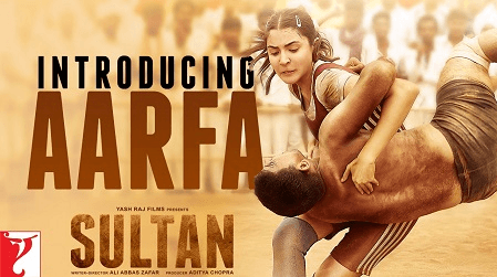Aarfa (anushka sharma) in action