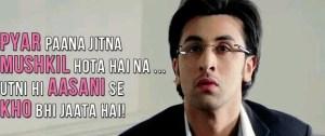 Lover Dialogues Ranbir Kapoor