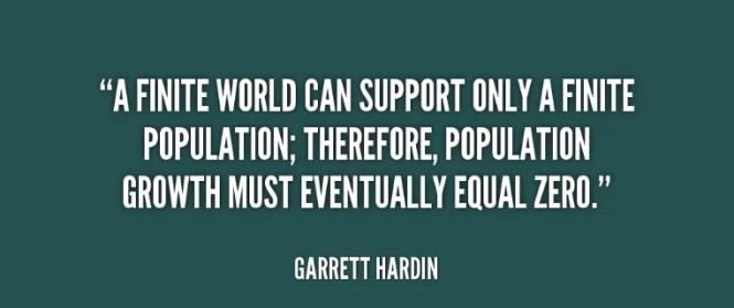 population day quotes by garrett hardin