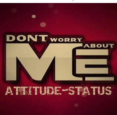 Attitude Status Is Available Here