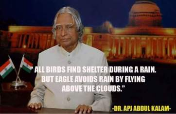 A.P.J Abdul Kalam Quotes on his speeches