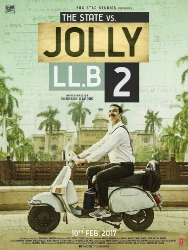 Movie Poster of JOLLY LL.B-2
