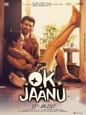 Movie Poster of OK Jaanu
