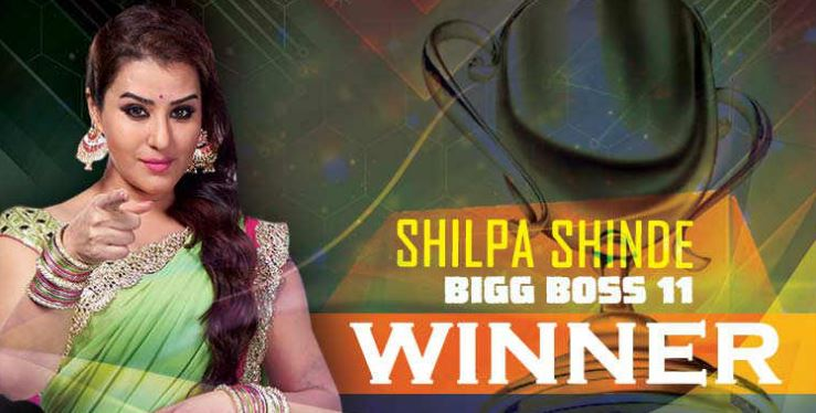 Bigg Boss Season 11 Winner – Shilpa Shinde