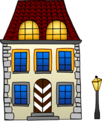 graphic of house