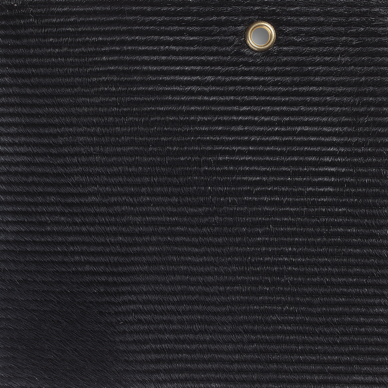 Ribbed Cavallini Black  Edelman Leather