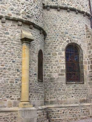 Rhne roman  Eglise de Beaujeu