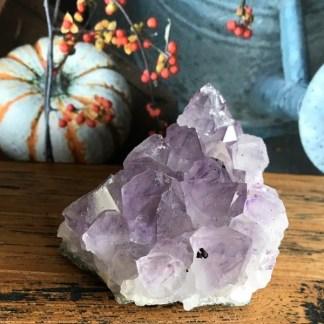 amethist cluster ruw licht paars