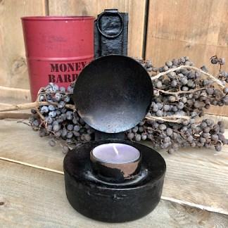 olielamp klein kandelaar accessoires de sfeermakers edelstenen mineralen