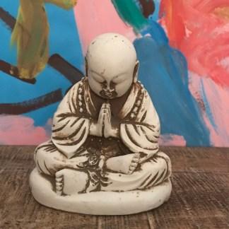 monnik in meditatie de sfeermakers