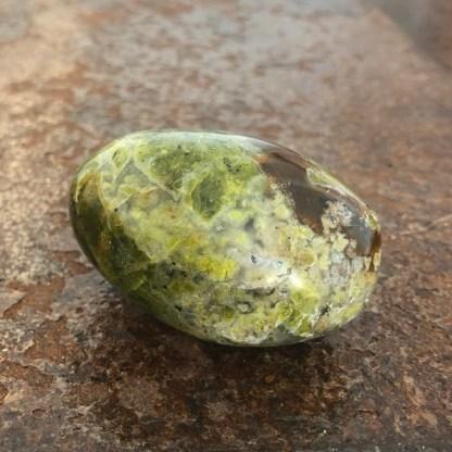 opaal groen gepolijst mineralen