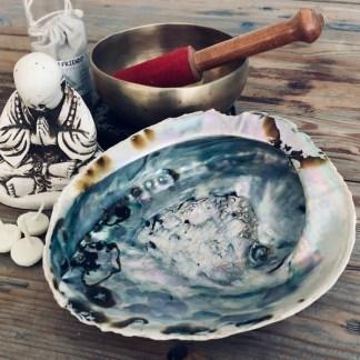 abalone schelp de sfeermakers smudgen