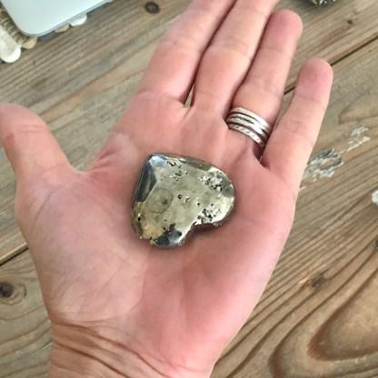 pyriet ruw gepolijst hartjes s mineralen
