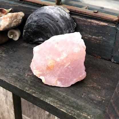 RozeKwarts Ruw Brok mineralen