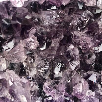 amethist ruw cluster brazilie nr1 mineralen