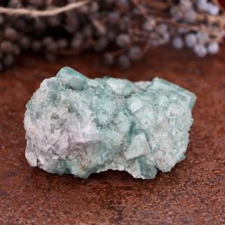 fluoriet groen ruw matrix nr1 mineralen