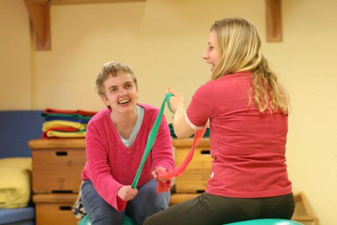 EdelweißClassic | Spendenprojekt 2019: Arbeits-, Rückzugs- und Bewegungsraum für die Lebenshilfe Piding. Gymnastik und Entspannung