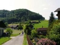 Ennetmoos, sur les hauteurs de Stansstad