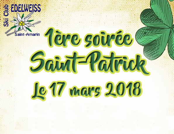 L'Edelweiss fête la Saint-Patrick
