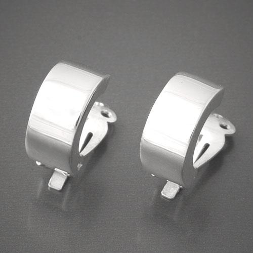 Ohrclips 925 Sterling Silber  Ohrringe im modernen Design