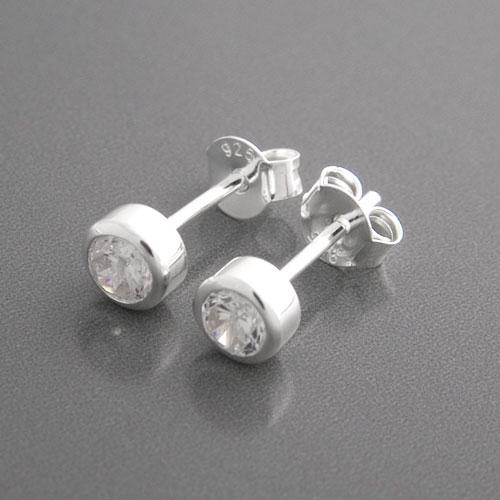 Runde Ohrstecker 925 Silber  Jetzt gnstige Ohrringe bestellen