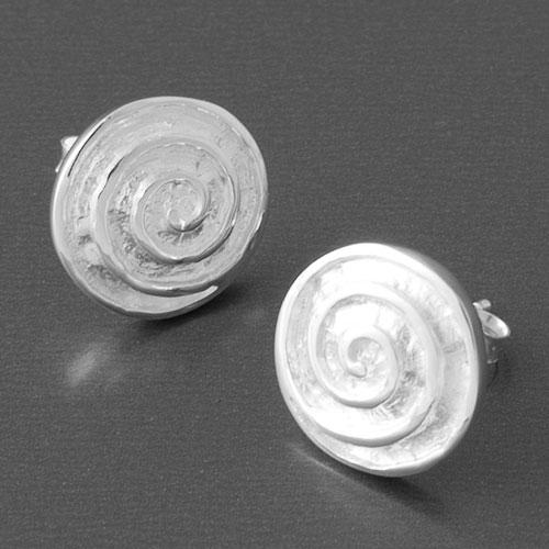 Silber Ohrstecker Spirale jetzt online kaufen  Gnstige Silberohrringe