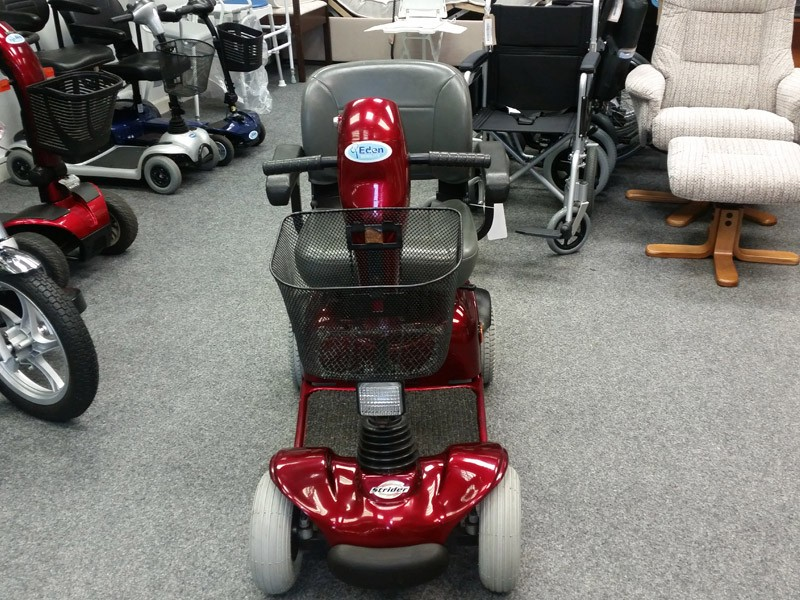 Strider Midi 4 Red  PreOwned Mobility Scooter  Finance
