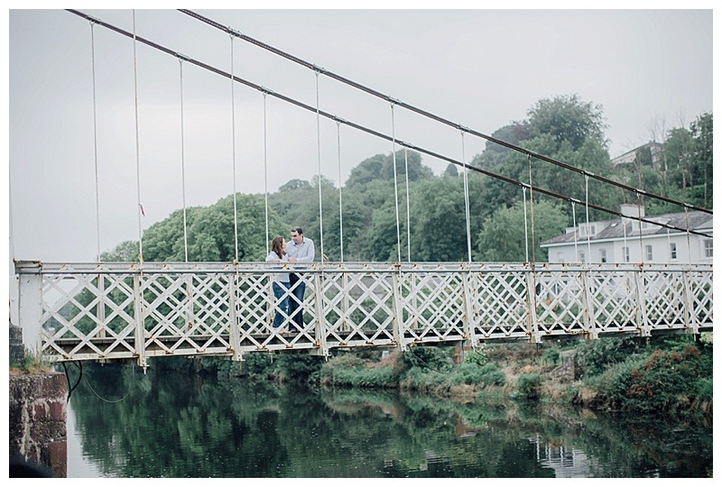 Natural Fitzgerald Park Engagement Session – Eimear and Niall