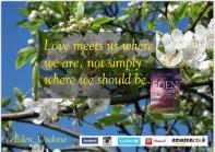 Eden Undone postcard Love meets us resized