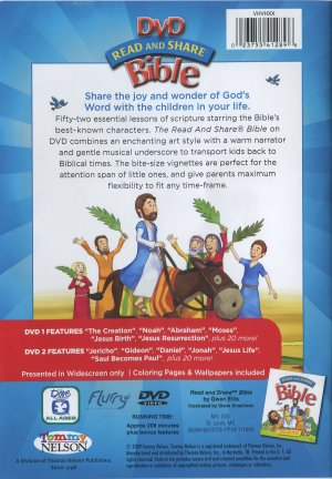 Read And Share DVD Bible Box Set 023755412898 For