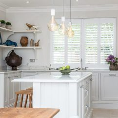 Kitchen Shutters Chairs Set Of 4 Designed And Fitted By Eden House Ascot Berkshire