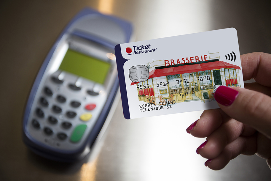 The Ticket Restaurant Card Arrives In France