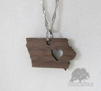 Iowa Keepsake Necklace