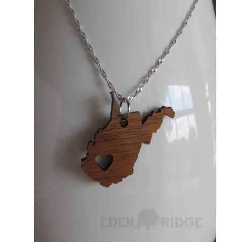 West Virginia Keepsake Necklace