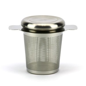 Stainless Steel Infuser/Strainer with Lid
