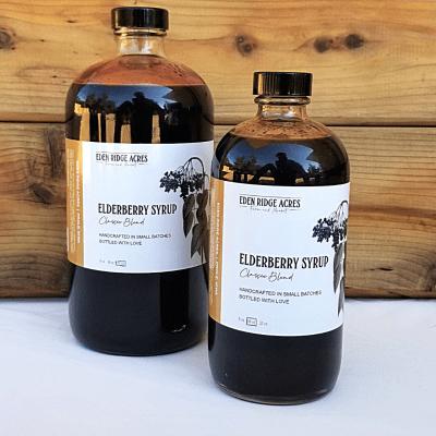 Elderberry Syrup (Classic)