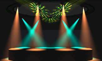 stage lighting rent fog machine