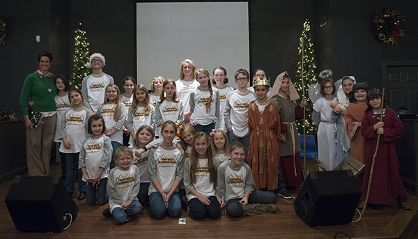 Children's Choir Musical Presented at River Campus:  Our Rock Solid Children's Choir did a fabulous job with their Christmas Musical presentation.