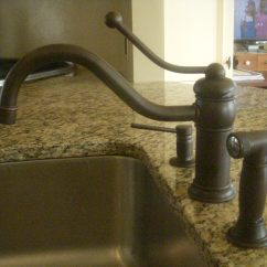 Delta Victorian Kitchen Faucet Island With Pull Out Table Oil Rubbed Bronze  Wow Blog