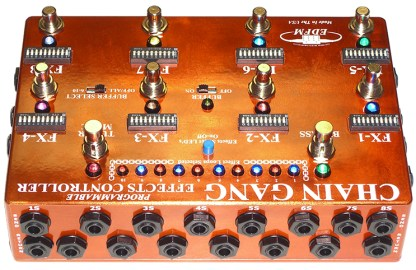 Chain Gang Programmable Effects Controller