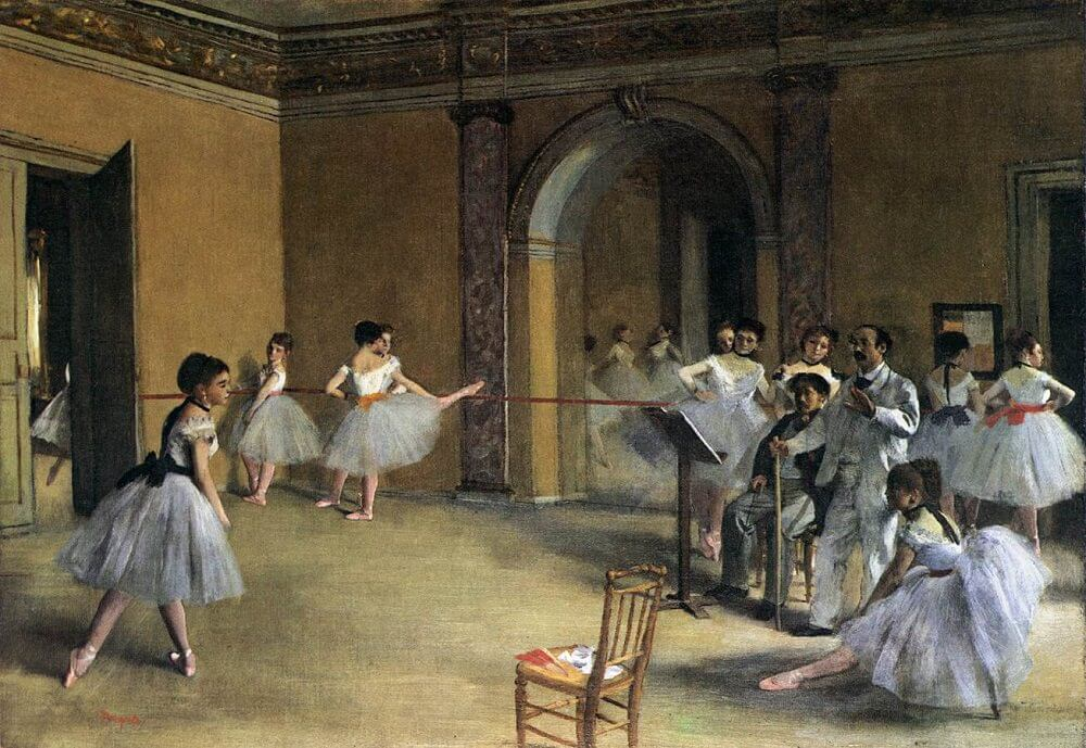 The Yellow Wallpaper Analysis Quotes The Dance Foyer At The Opera 1872 By Edgar Degas