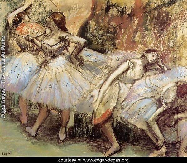 Edgar Degas  The Complete Works  Dancers III  edgar