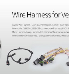electronic wiring harness automotive wiring harness [ 1600 x 517 Pixel ]