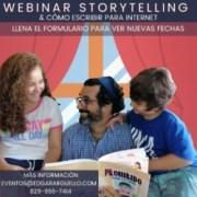 ¿Por qué usar Storytelling?Webinar en vivo: Storytelling & cómo escribir para Internet