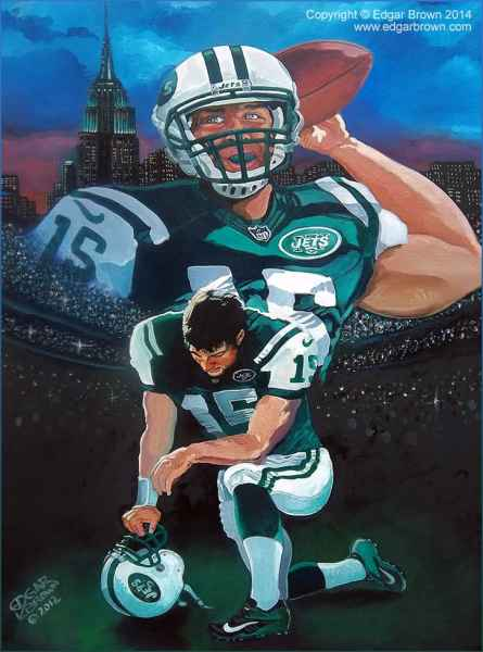 sports Sports Art Paintings by Sports Artist Edgar J. Brown