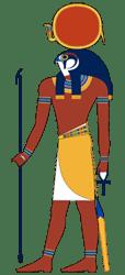 Re or Sun god Ra