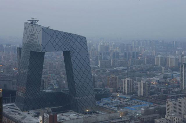 OMA, AMO, Rem Koolhaas, Architecture, Smart Building, Optimization, Infrastructure, Systems, Services, Management, CCTV headquarters
