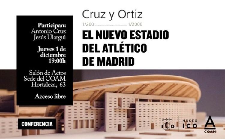 Flyer conferencia Cruz y Ortiz