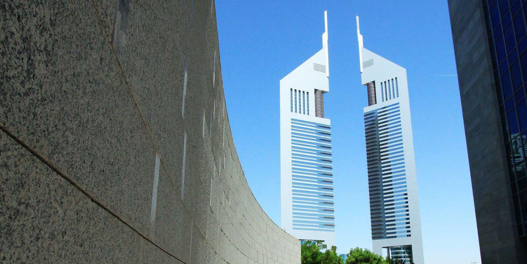 EMIRATES TOWERS DUBAI UAE EDGE Architecture