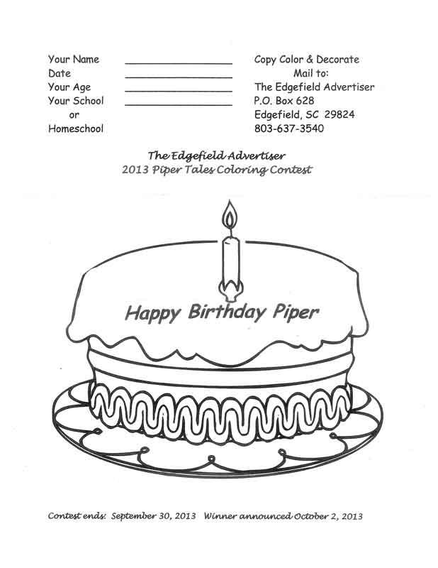 Happy Birthday Piper!